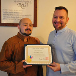 West Coast Reiki News – A New Reiki Master!