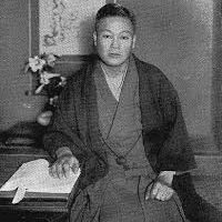 Photo of Reiki Master Kaiji Tomita, author of the 1933 Reiki Book, Reiki to Jinjutsu.